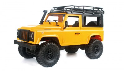 Off-road Land Rover 4WD 1 op 16 RTR Geel